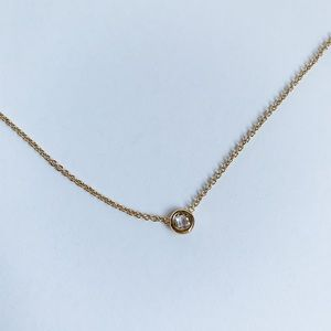 Stella & Dot Silver/ Gold Necklace